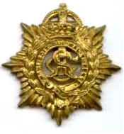 Badge of New Zealand Army Service Corps. It was not granted 'Royal' status until 1947.