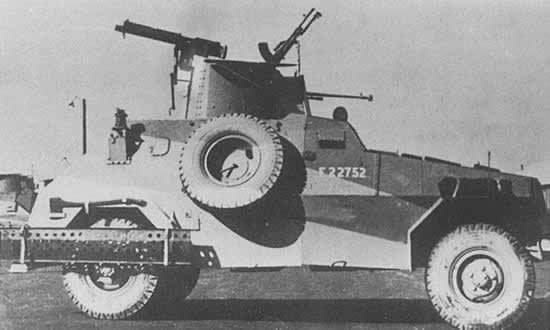 Marmon-Herrington MKII Armoured Car