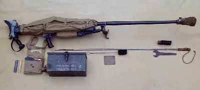 Boys Anti-tank rifle with all its accessories, including dust/mud cover