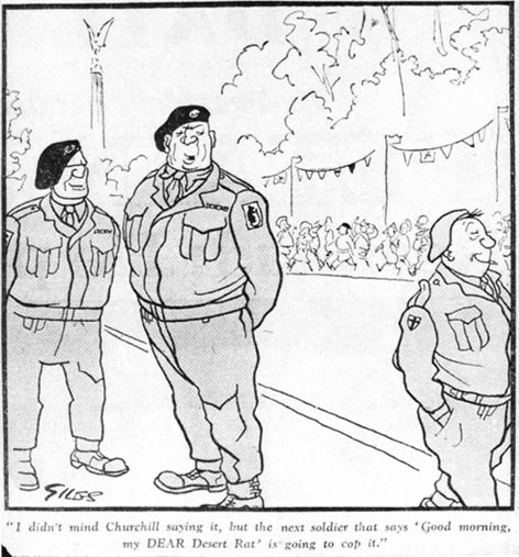 Cartoon published on 24th July 1945.