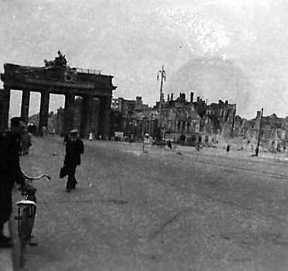 Berliners by the Brandenburg Gate