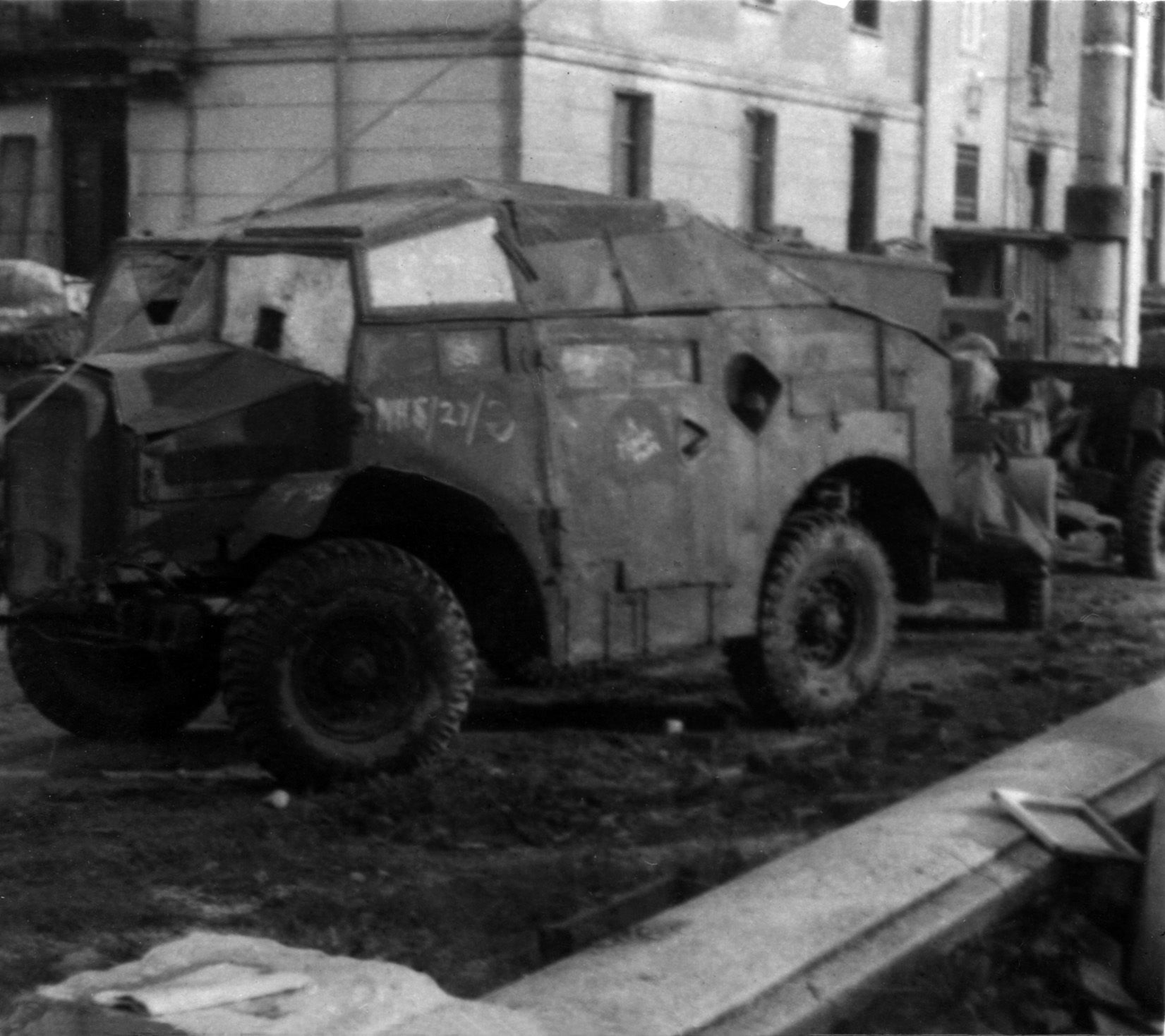 Quad Tractor, probably in Italy