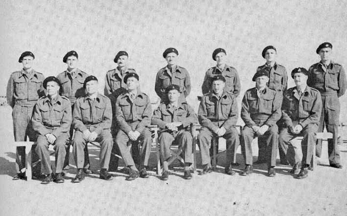 CO and the other Officers of 4th SA ACR