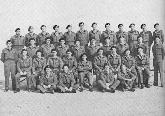 CO, NCOs and Crews of 4th SA ACR