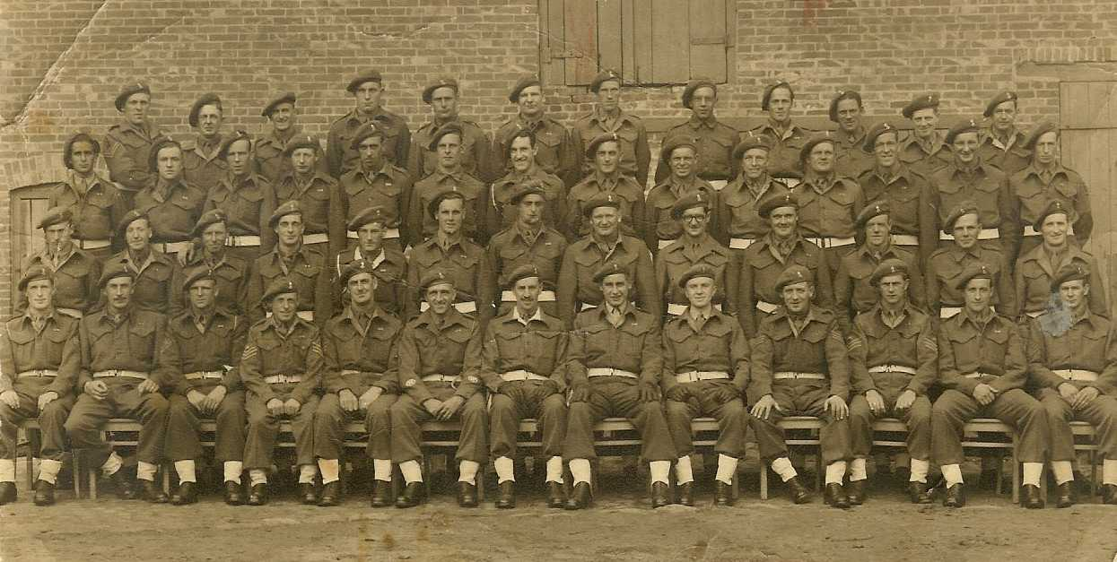 C Troop, 41 LAA Bty, 15th (IOM) LAA Regt, 10th August 1945. Picture courtesy of Alf and Ray Parish.