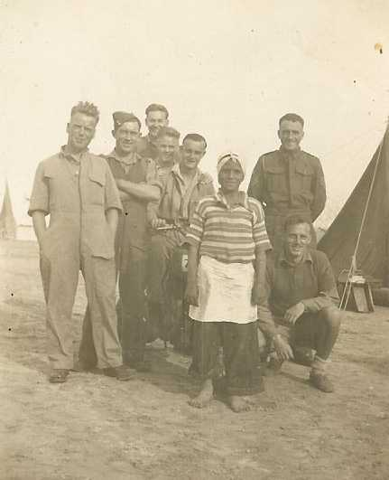 Probably 41 Bty, 15th LAA Regt. Picture courtesy of Alf and Ray Parish.