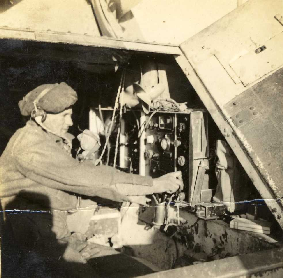 A second picture of the radio inside a Marmon Herrington armoured car. Picture courtesy of Rick Allenberg.