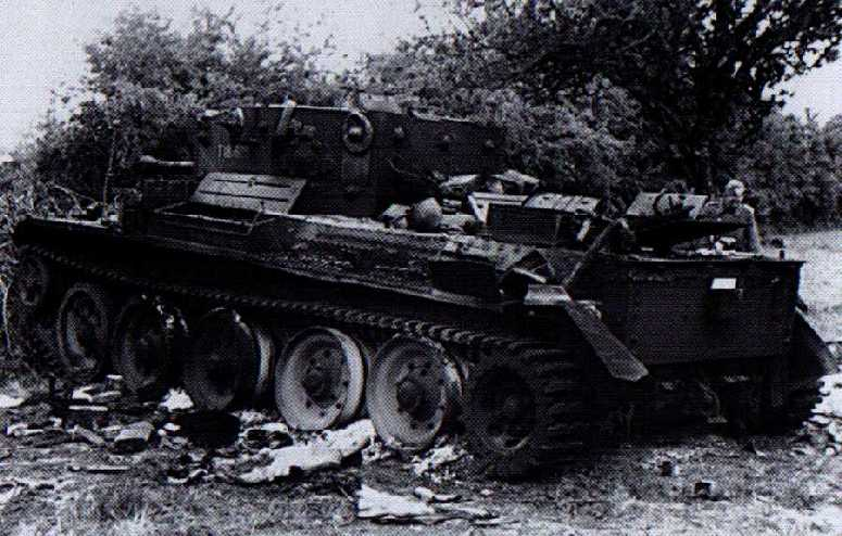 Another abandoned 4 CLY Cromwell