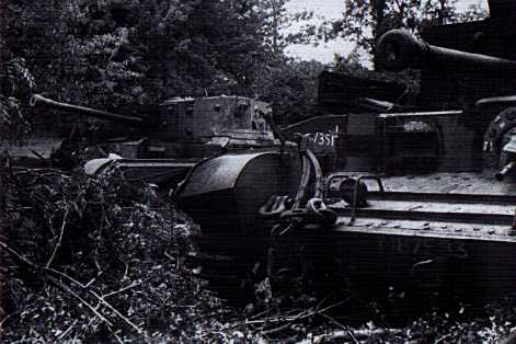 Abandoned Cromwells in woodland at Pt 213